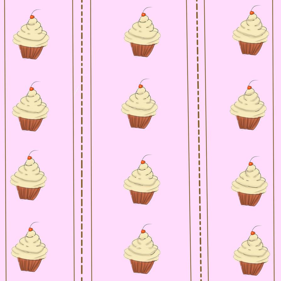 Cupcake Wallpaper: Cupcake Wallpaper By Wickedlaw On DeviantArt