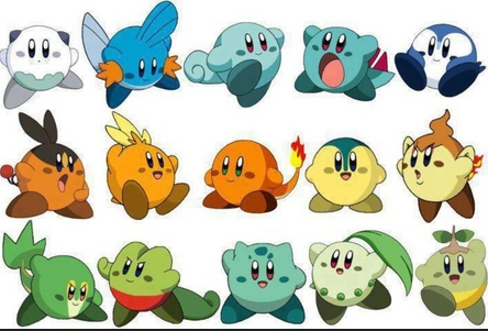 if pokemon were kirby style by tvalcourt on DeviantArt