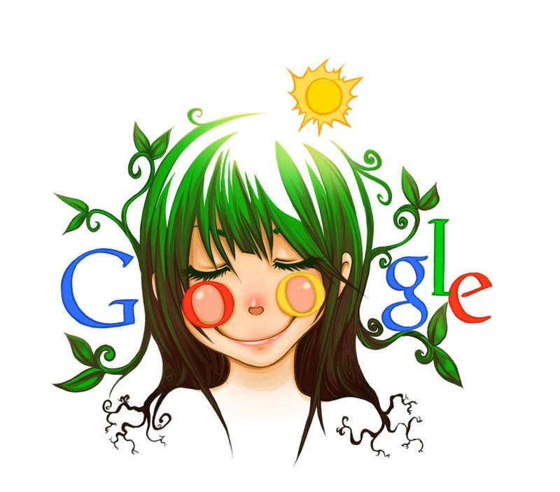 google doodle by doop on deviantart