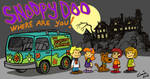 Snoopy as Scooby Doo