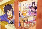 daily morning . uzumaki family