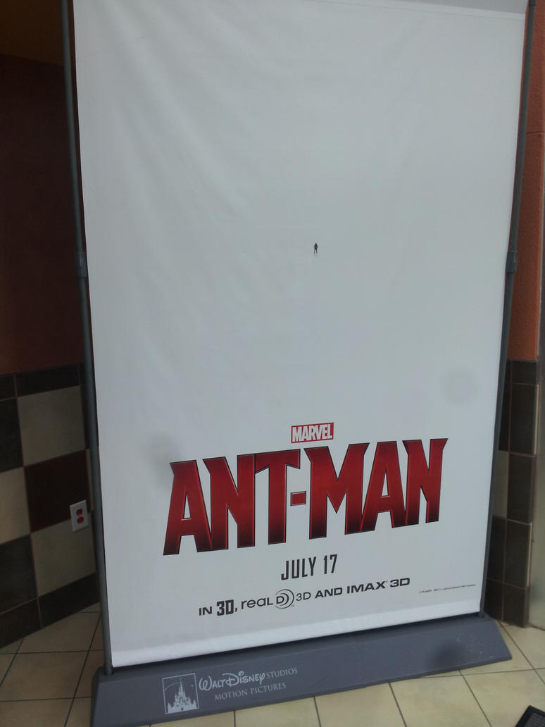 Ant-Man Poster (May 2nd, 2015) by CrappyMSPaintArt