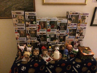 Funko Pop Collection 01 by CrappyMSPaintArt