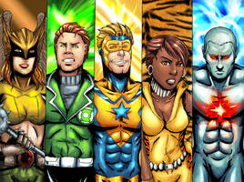 Justice League Group 4