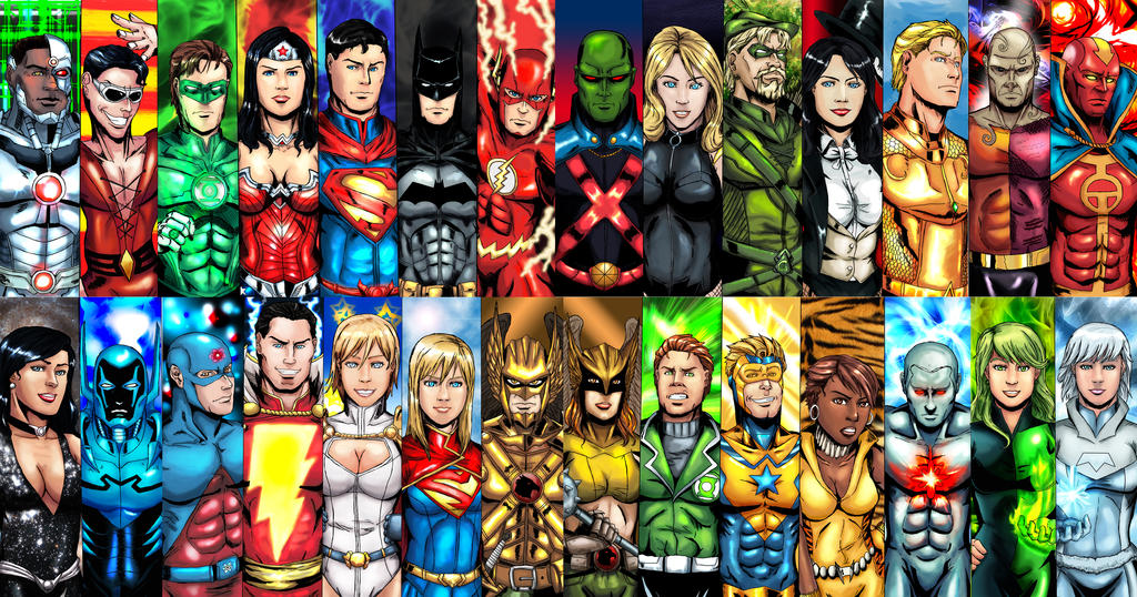 Justice League Ultimate Pack By Cpuhuman