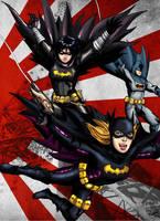 Batgirl Blackbat 003 colored by cpuhuman