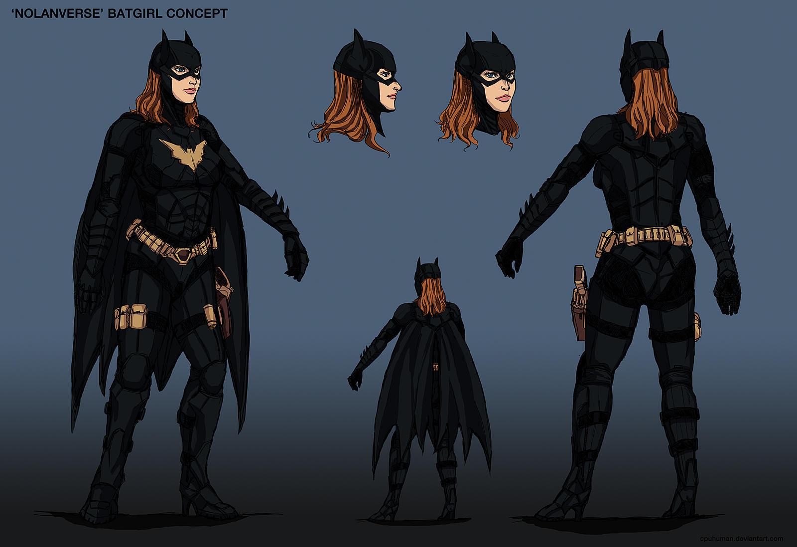 'Nolanverse' Batgirl Concept Design by cpuhuman