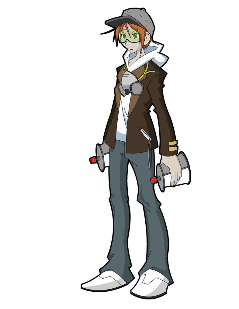 TWEWY Character Design by Syros