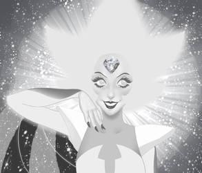 Shine bright like a Diamond - White Diamond by neko-jessye