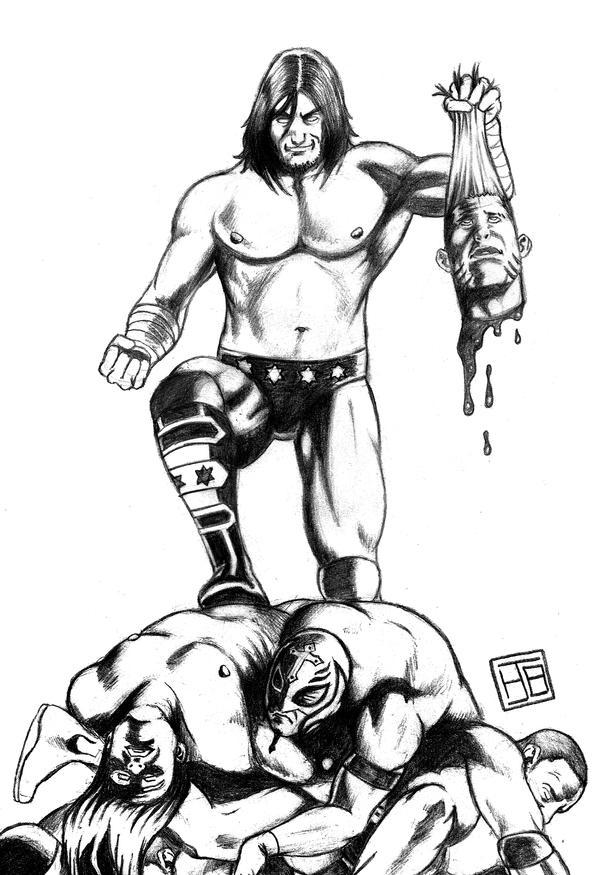CM Punk VS by HectorBarrientos