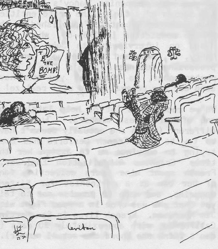 TOM BAKER Movie Critic by pattie-anne