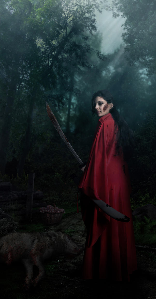Red Riding Hood by BaronGraphics on DeviantArt