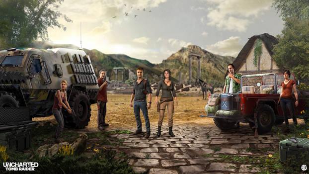Uncharted meets Tomb Raider