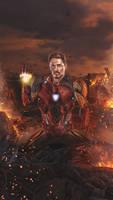 Iron Man-Avengers: Endgame