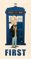 First Doctor by Erich0823