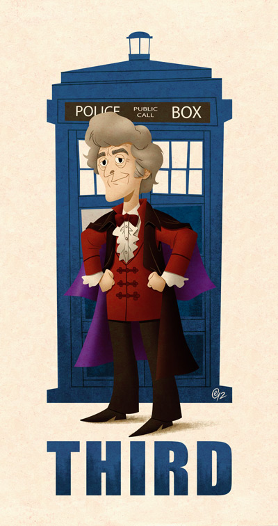 Third Doctor by Erich0823