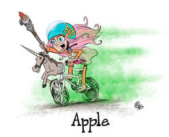 Apple by Erich0823