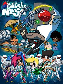 Mail Order Ninja poster/cover