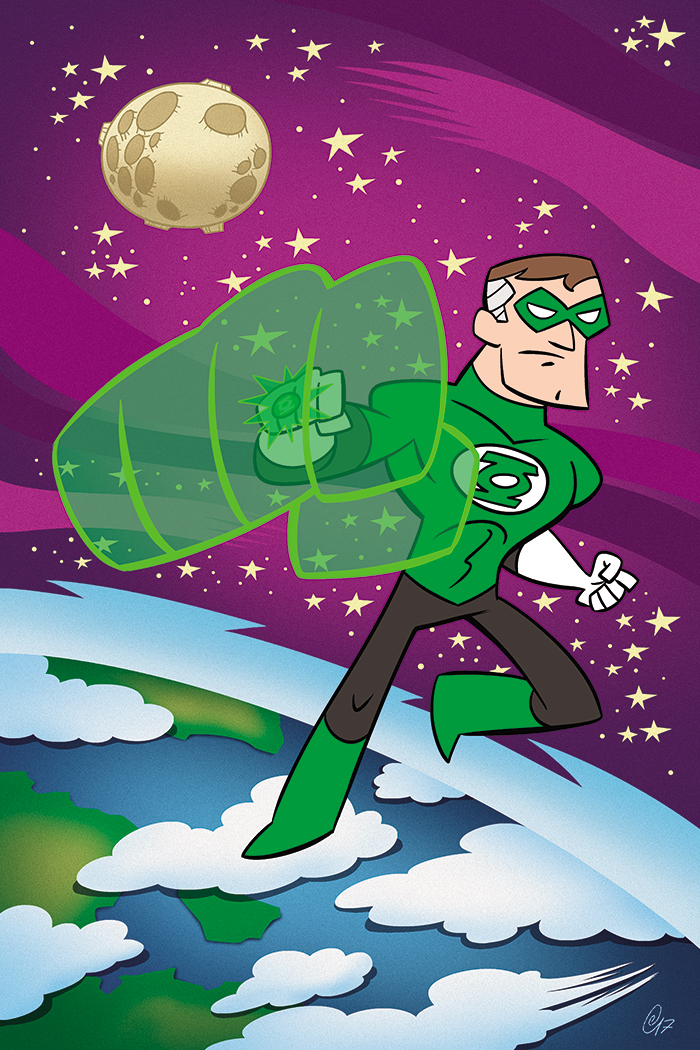 Green Lantern! by Erich0823
