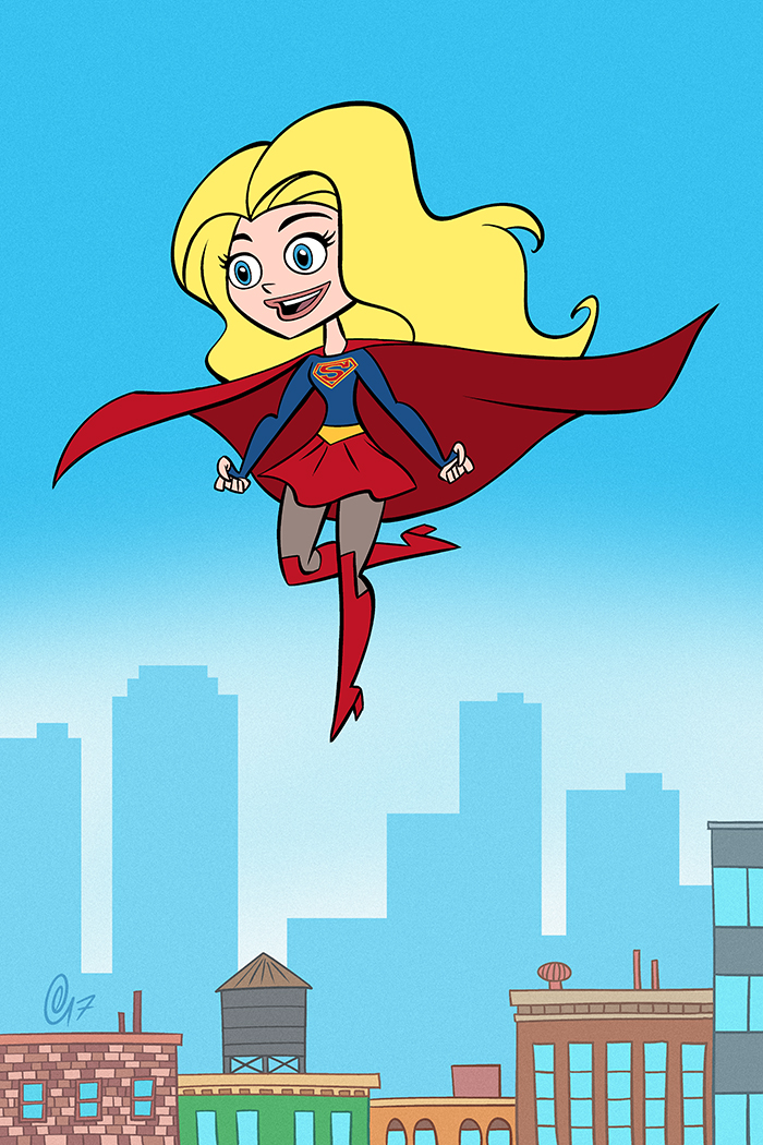 Supergirl! by Erich0823