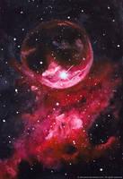 The Bubble Nebula by Afinodora