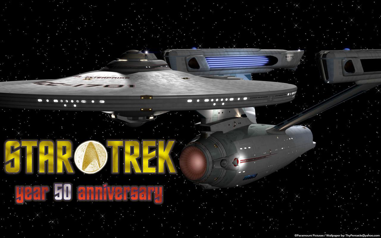 Star Trek - year 50 anniversary - Enterprise Refit