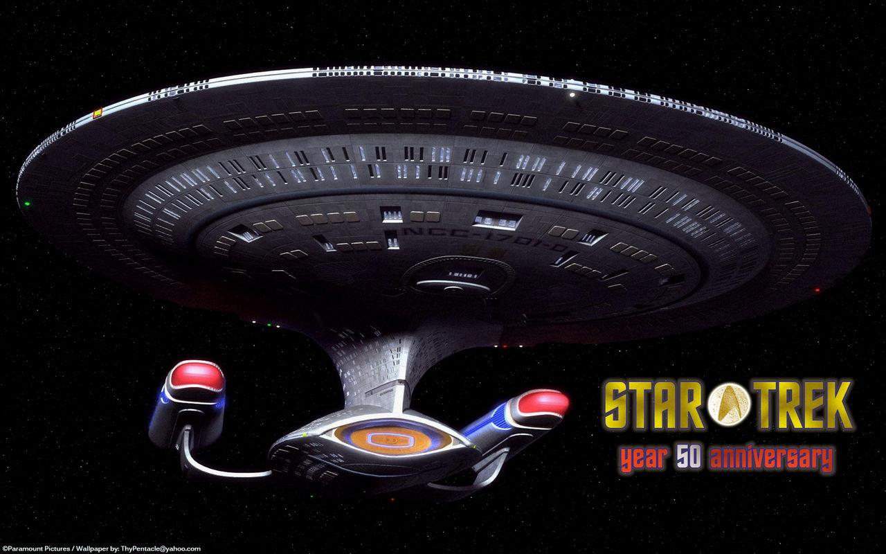 Star Trek - year 50 anniversary - Enterprise D