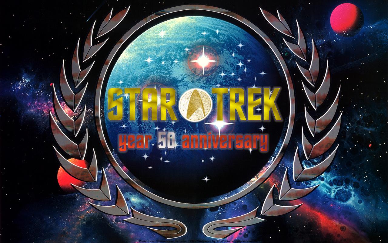 Star Trek - year 50 anniversary - UFP
