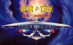 Star Trek - year 50 anniversary - Galaxy Class