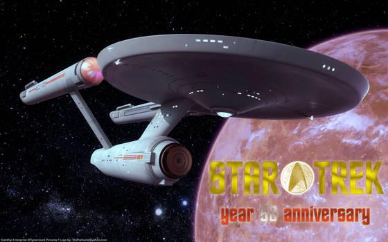 Star Trek -year 50 anniversary- Classic Enterprise