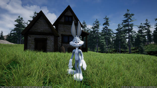 Bugs Bunny in Unreal Engine