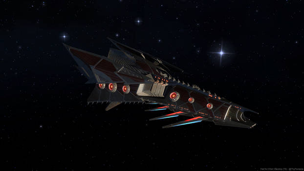Fek'Ihri S'torr Warship