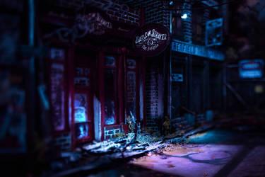 Nightfall in the Lot (Outtake) - Diorama 2019