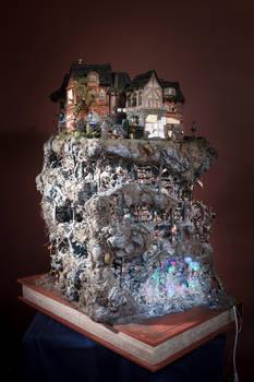 Die Katakomben von Buchhaim/ Modell 2012
