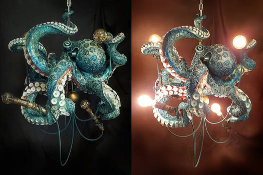 Octopus Chandelier Oscar