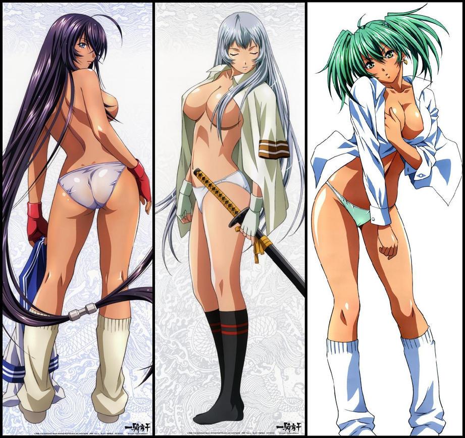 Anime ikki tousen sexy Tapeten