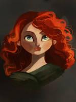 Princess Merida by CahillSketchies