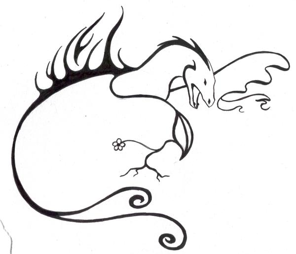 Elemental dragon tattoo by TheMetasepia