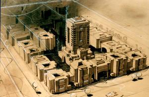 architecture 1D by mszhian