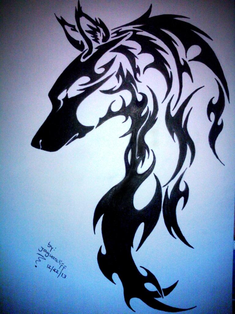 she wolf tattoo designs. Black Bedroom Furniture Sets. Home Design Ideas