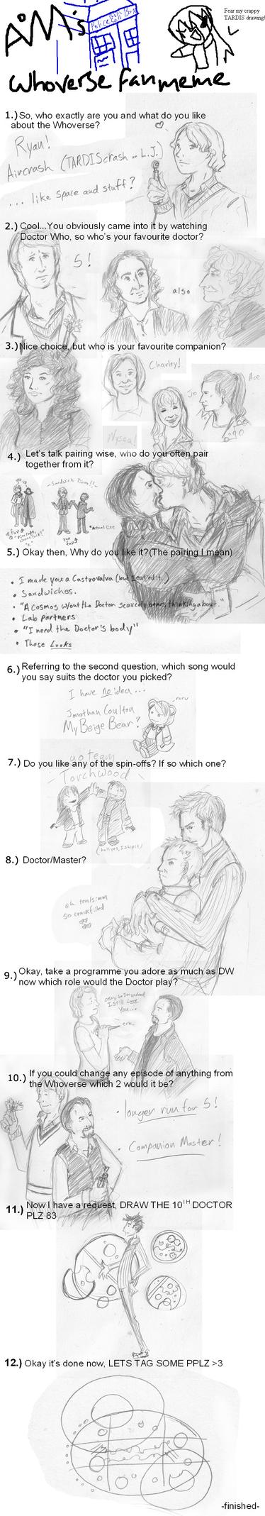 Doctor Who Meme by RainWhitehart