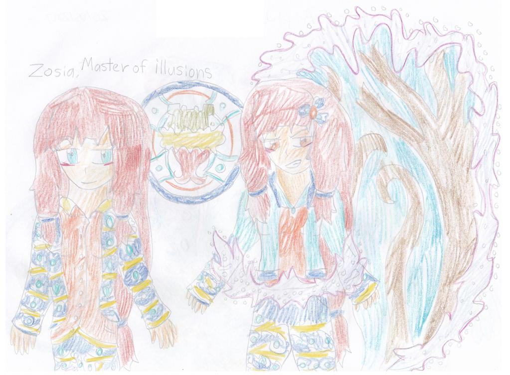 Zosia, Master of Illusions by Skyracinghero717