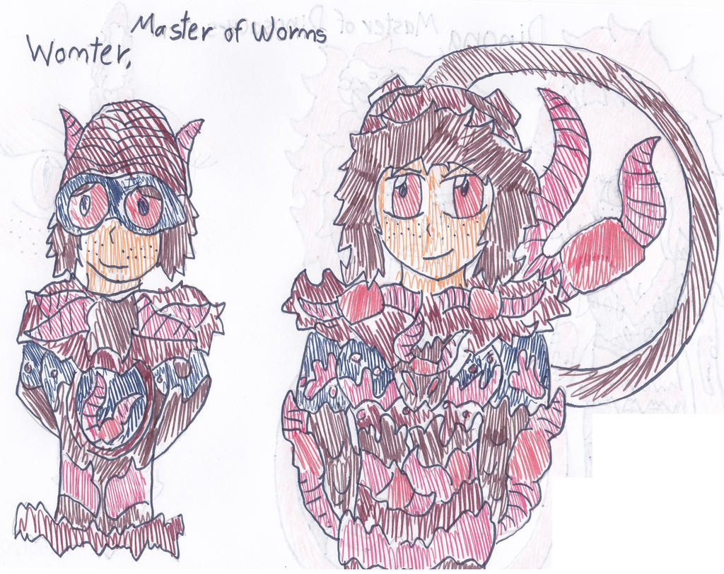 Womter, Master of Worms by Skyracinghero717 on DeviantArt