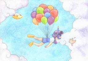 Cloud Snorkeling by tammytee
