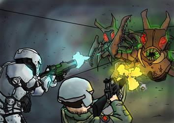 Insect Attack - Rimworld