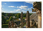 On the top of Melrose Abbey