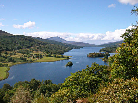 Queens View near Pitlochry WP