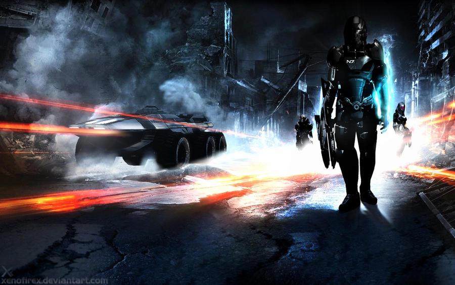 Battle Effect 3 by XenofireX