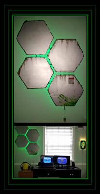 Cyberpunk Light Fixtures