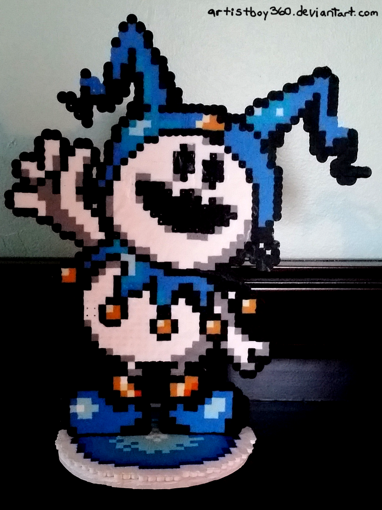 Standing Jack Frost Perler by Artistboy360
